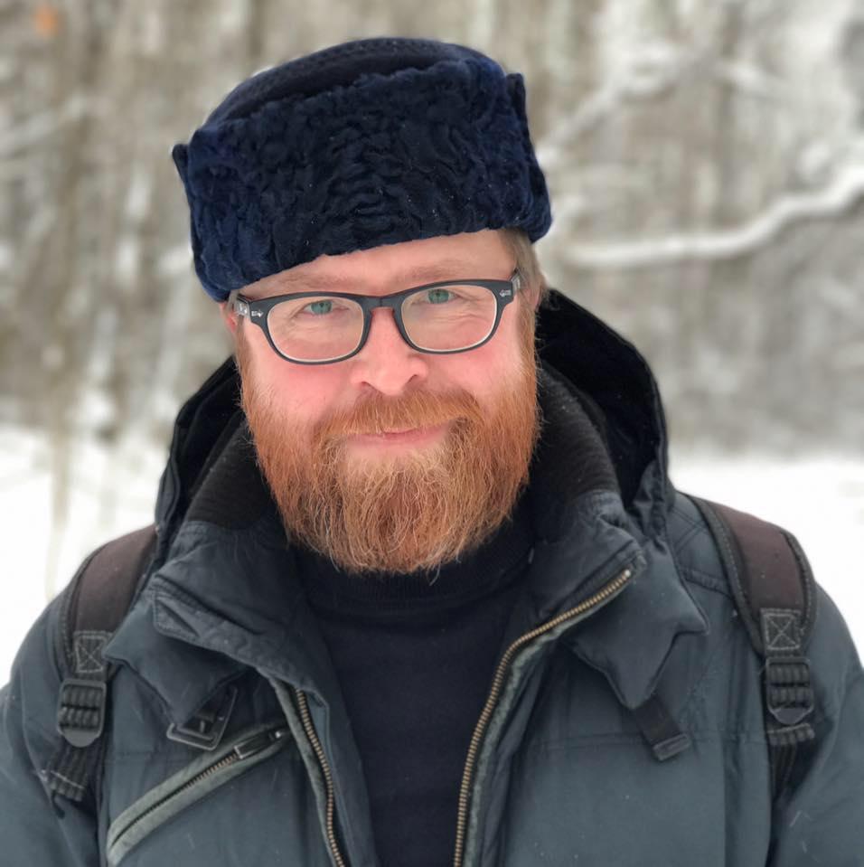 Russian writer Andrei Gelasimov.