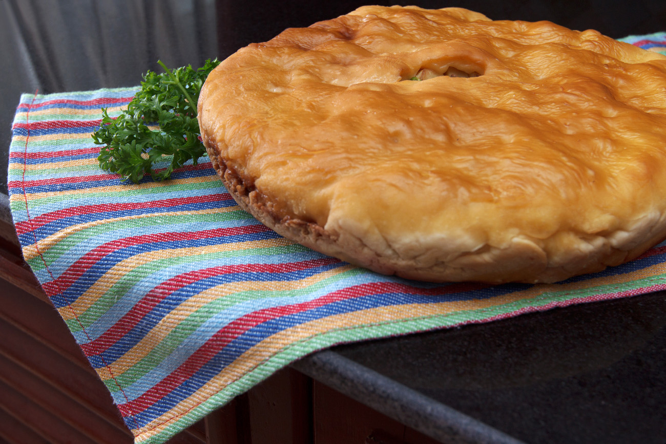 Learn the forgotten recipe for Ural Mountain chicken pie.
