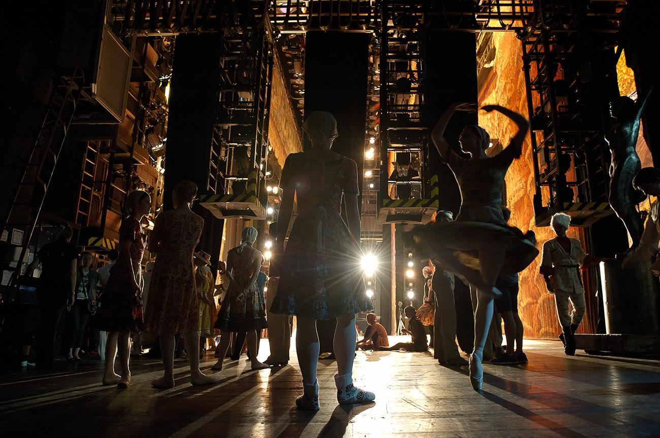 「ドミトリー・スタルシノフ、ボリショイ劇場」=マルチメディア・アート美術館