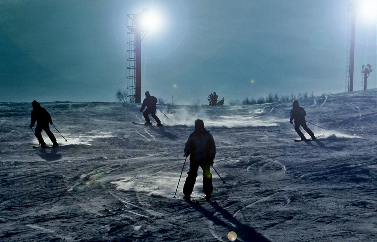 La stazione sciistica di Abzakovo si trova negli Urali meridionali. Qui si può sciare su piste dolci e non troppo ripide: le montagne infatti non superano gli 800 metri di altitudine