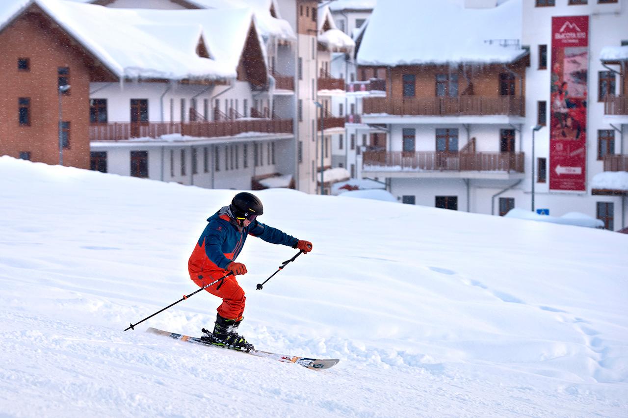 Ski adalah salah satu olahraga yang dilombakan dalam Kompetisi Olahraga Musim Dingin Militer Dunia di Sochi, Rusia.