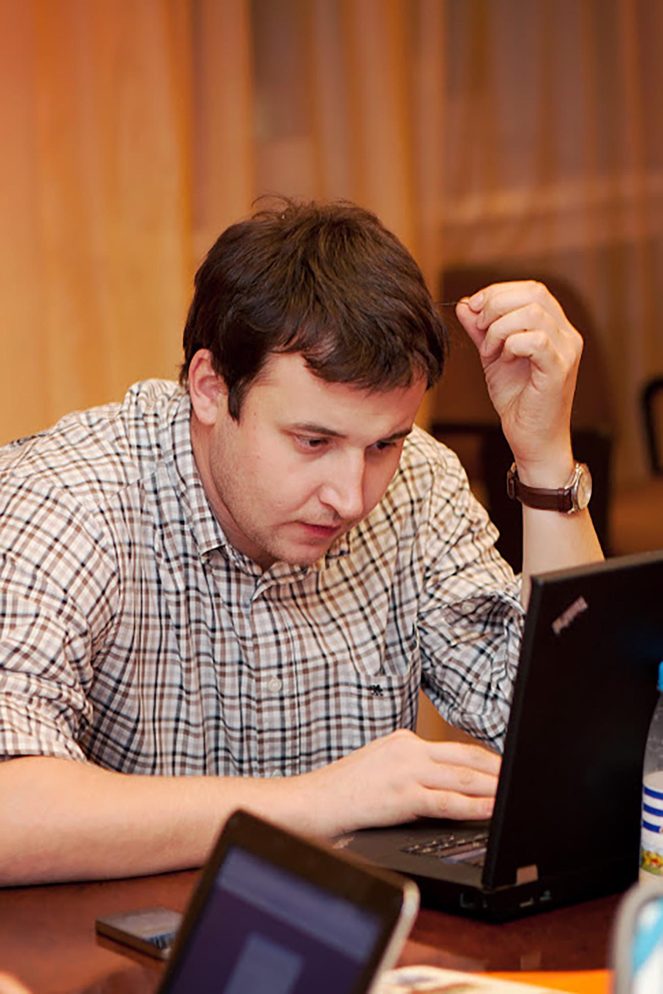 Dmitri Semiónov. Fuente: hse.ru