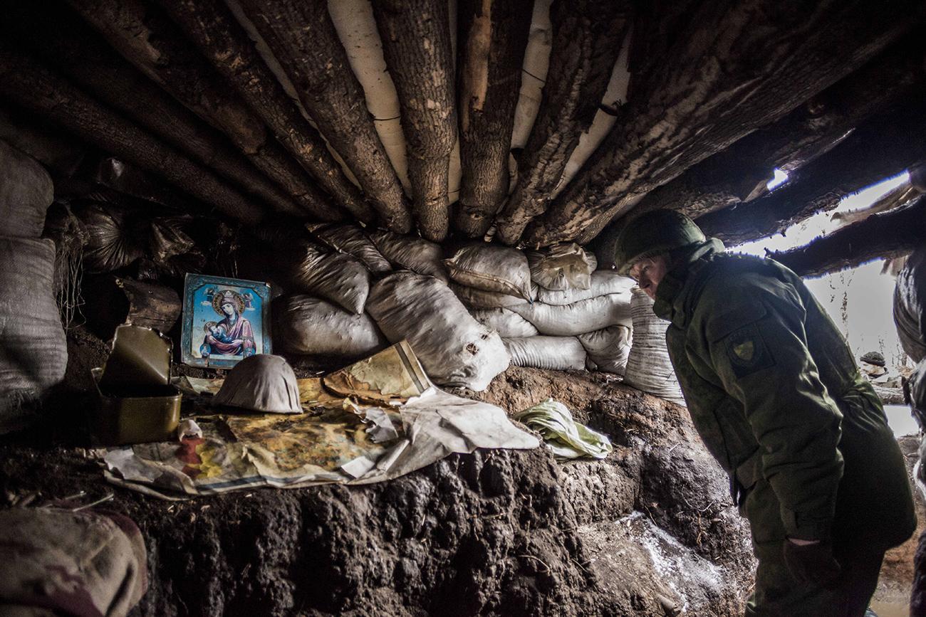 Војник Доњецке Народне Републике, село Зајцево, 7. јануар 2017. / ZUMA Press/Global Look Press