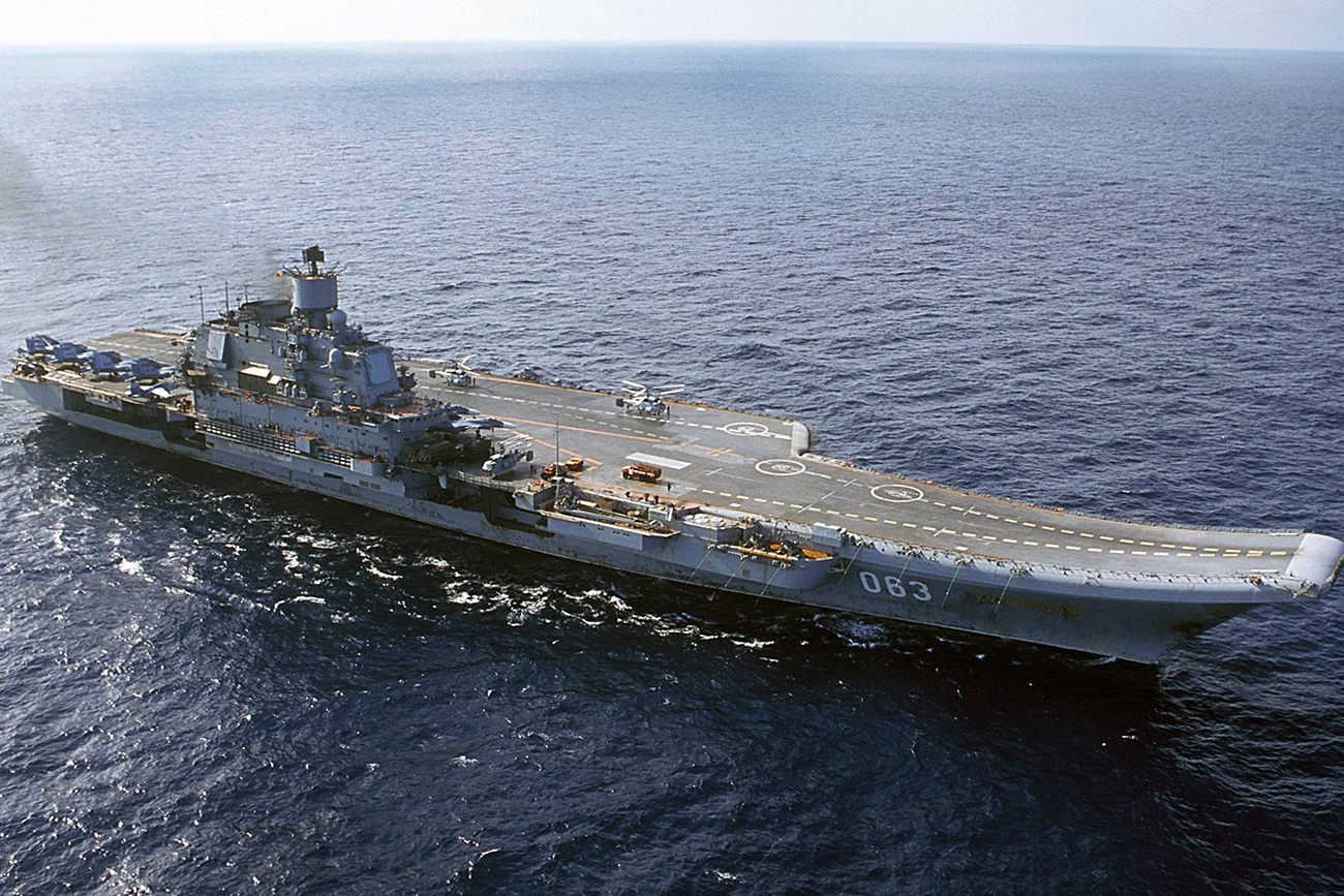 The use of aviation and ships from the Admiral Kuznetsov aircraft carrier group in the battle for Aleppo cost the Russian budget some $170 million, says a media report. Experts claim, however, that a real waste of budget resources would have been keeping the ship at dock in a Russian port. Photo: Russian aircraft carrier Admiral Kuznetsov.