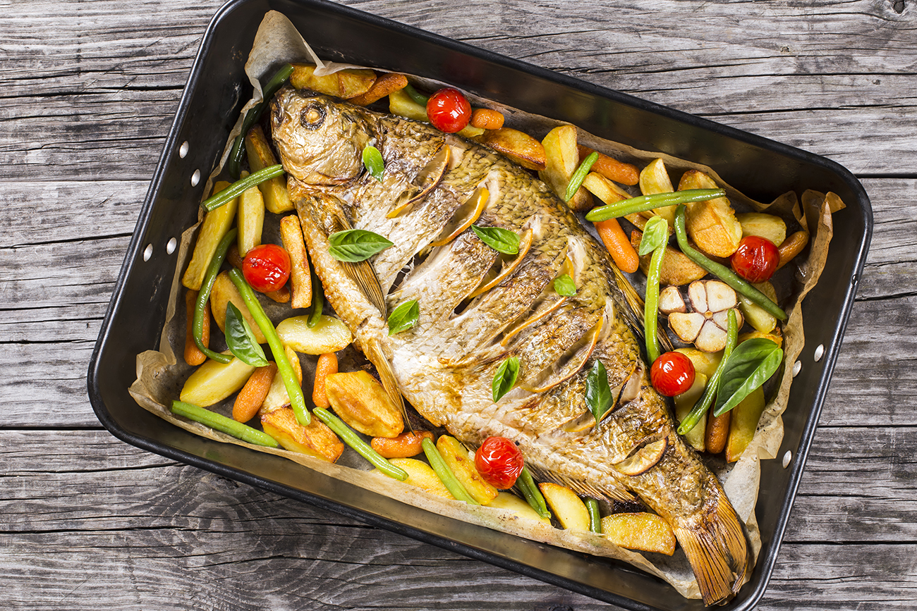 Crucian carp is created for frying!