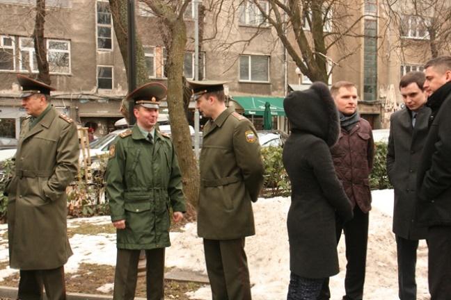 Руски военни представители също уважиха паметта и заслугите на граф Игнатиев.\n