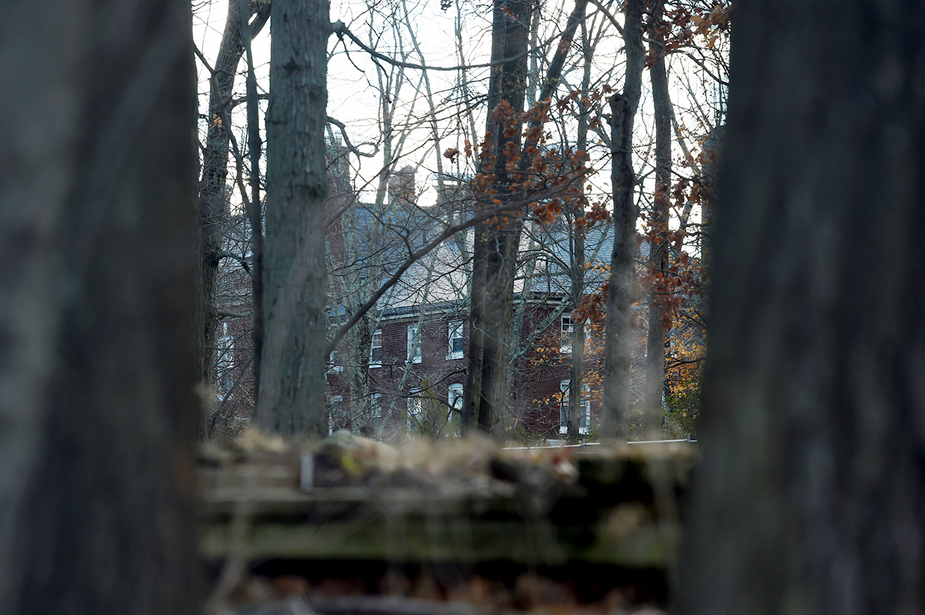 A Russian compound, which was ordered to be closed and vacated, is seen in Upper Brookville, Long Island, New York, U.S., on Dec. 30, 2016