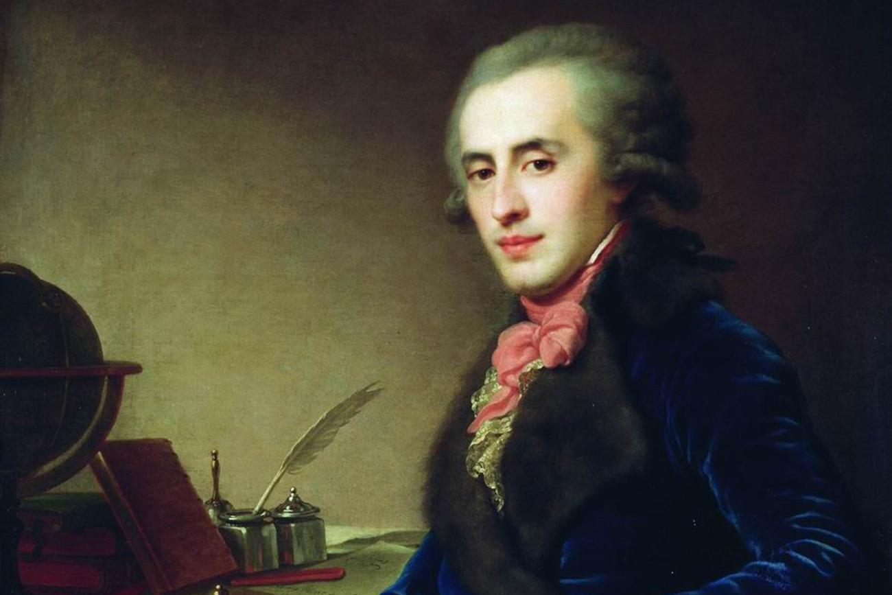 Portrait of Duke Zubov, by Johann Baptist Lampi the Elder. Source: State Tretyakov Gallery