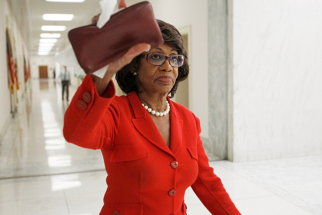 Maxine Waters doesn't know how many U.S. intelligence agents are in Limpopo.