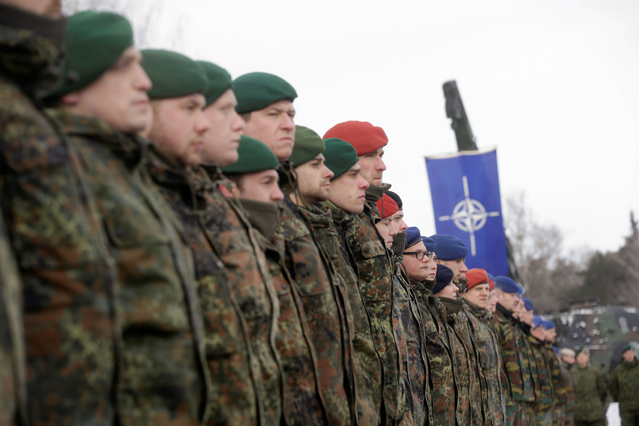 Experts believe that the permanent stationing of 4,000 NATO troops in the Baltic states close to the Russian border is not unusual and do not formally breach the Alliance's 1997 deal with Russia.