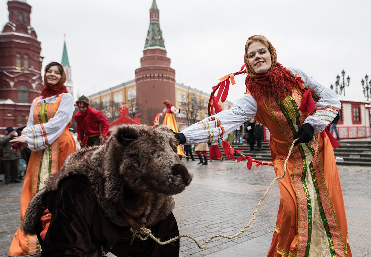 Aus dem heidnischen Fest wurde Russlands größtes Volksfest.