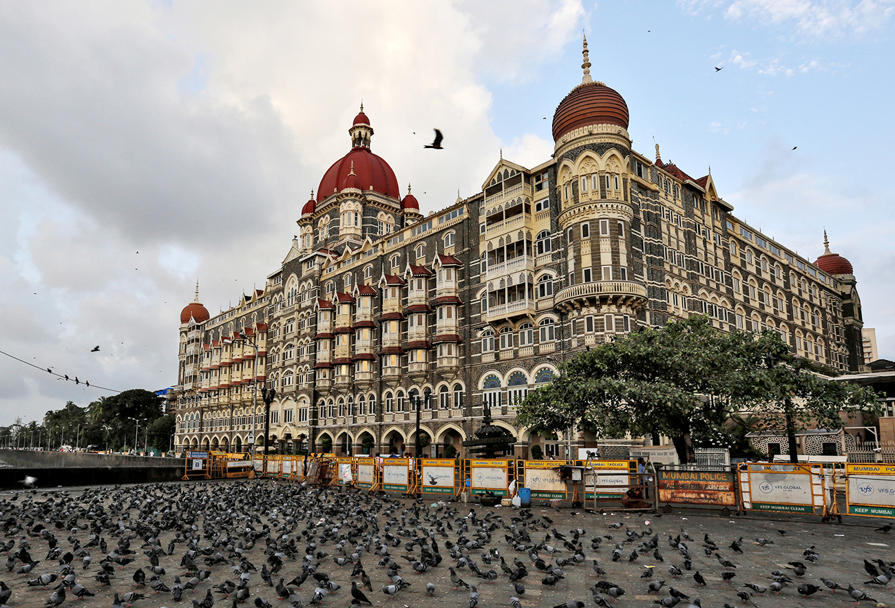The Taj Mahal hotel in Mumbai. Source: Reuters