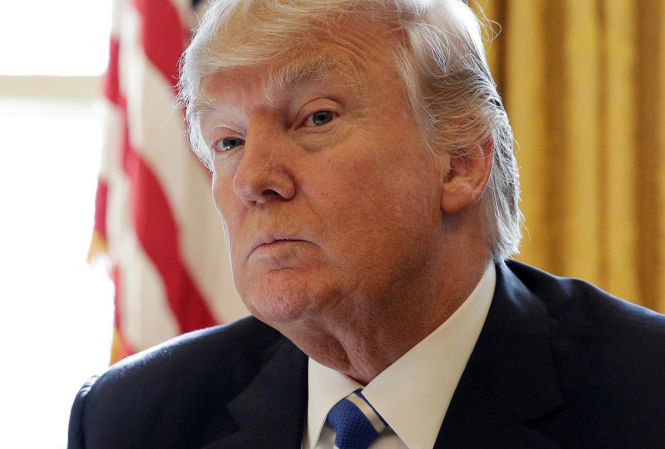"""Presiden AS Donald Trump mengaku """"berterima kasih"""" kepada Presiden Putin karena mengusir sejumlah diplomat AS dari Rusia."""