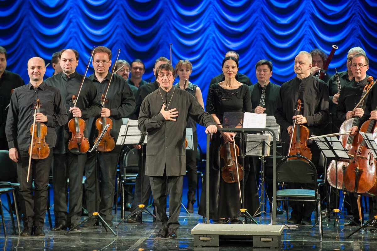 Yuri Bashmet and Chamber Orchestra Soloists of Moscow in Sochi.