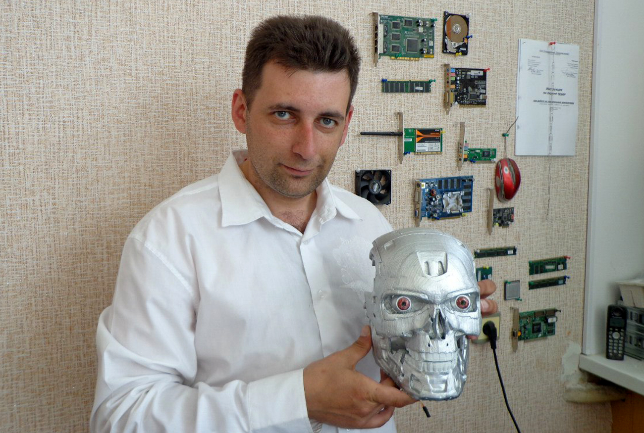 Alexander Osipovich wrote Google and soon received a blueprint of the T-800 robot.