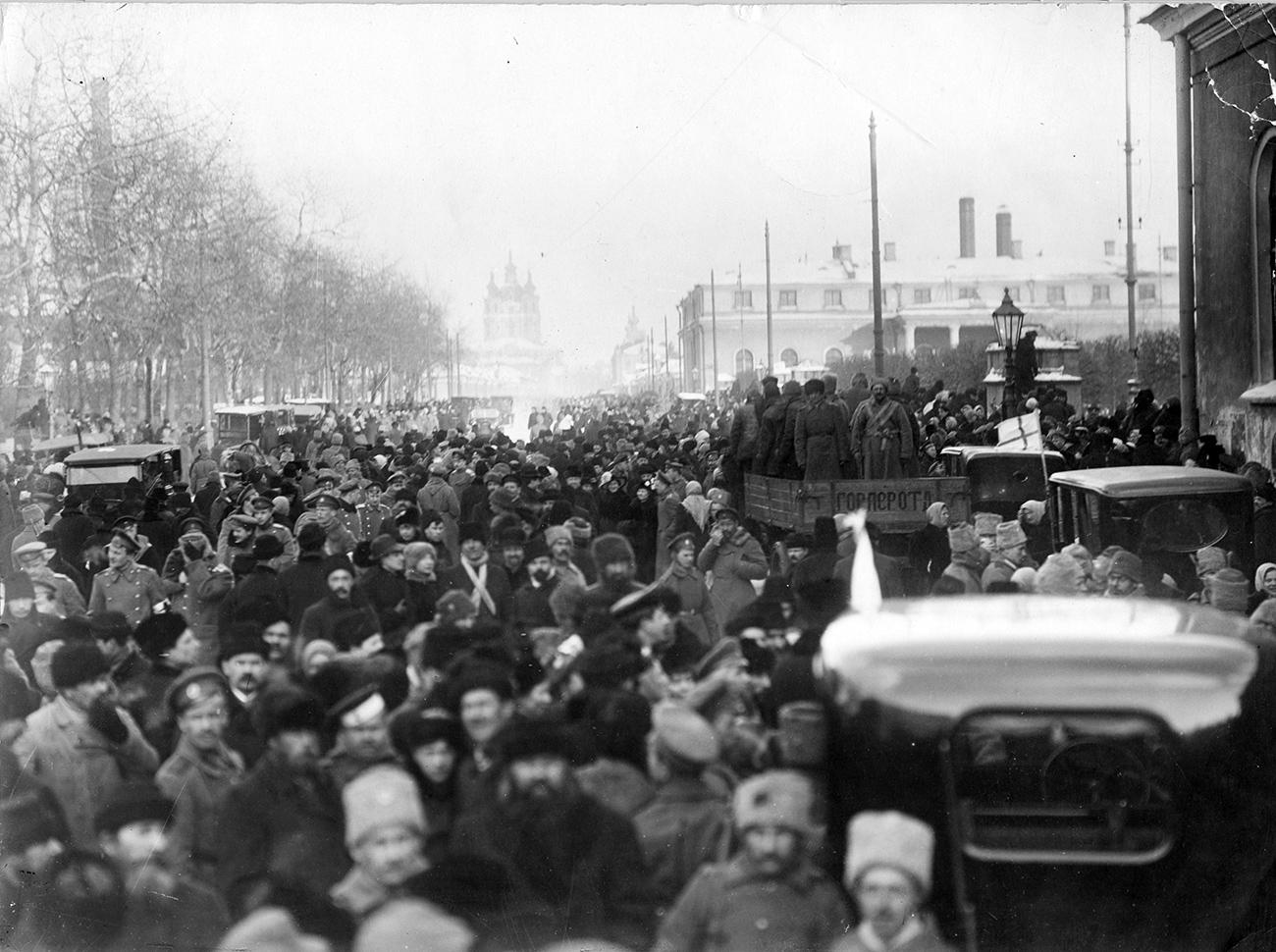 Петроград, фебруар 1917.