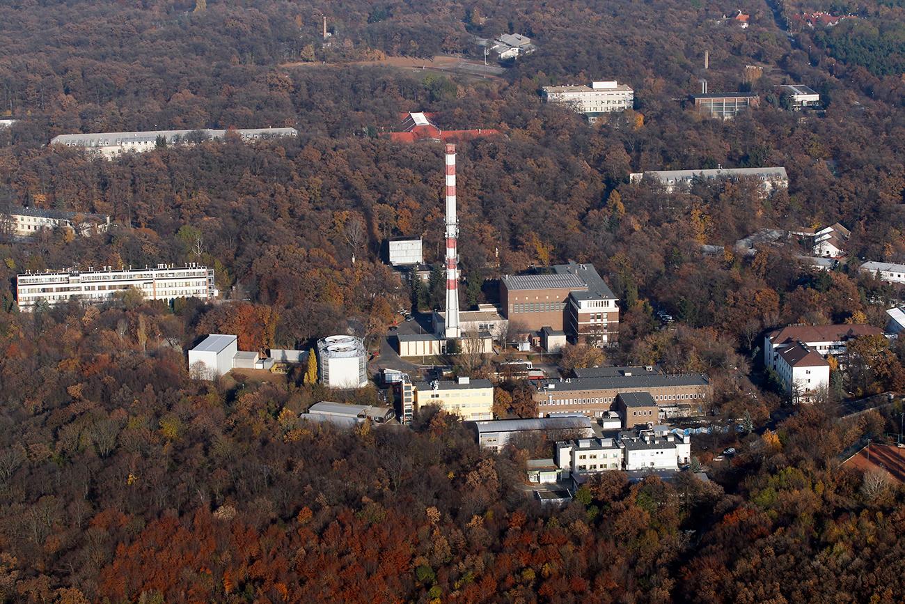 Institut de recherche sur les isotopes de Budapest. Crédit: Reuters