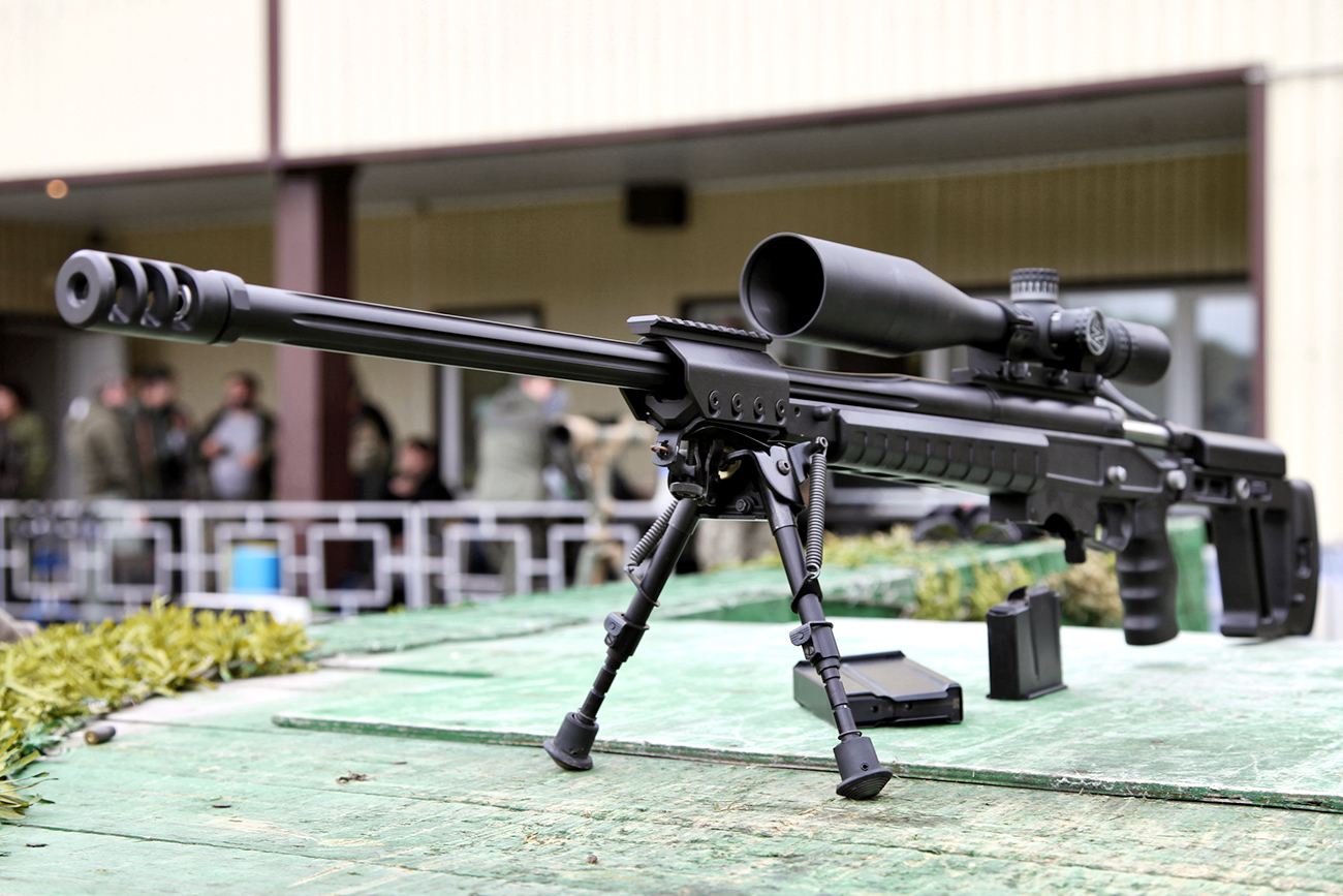 Production of Russian large-caliber sniper rifle OSV-96 began in Vietnam 63
