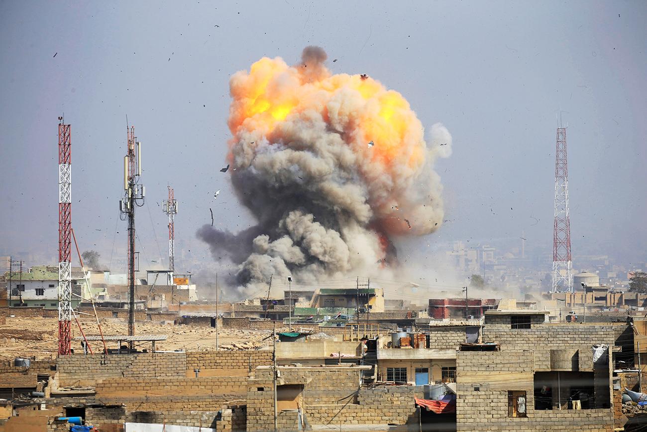 Rusia sedang bergerak untuk menghancurkan benteng terakhir ISIS di Suriah, yang terletak di Deir ez-Zor.