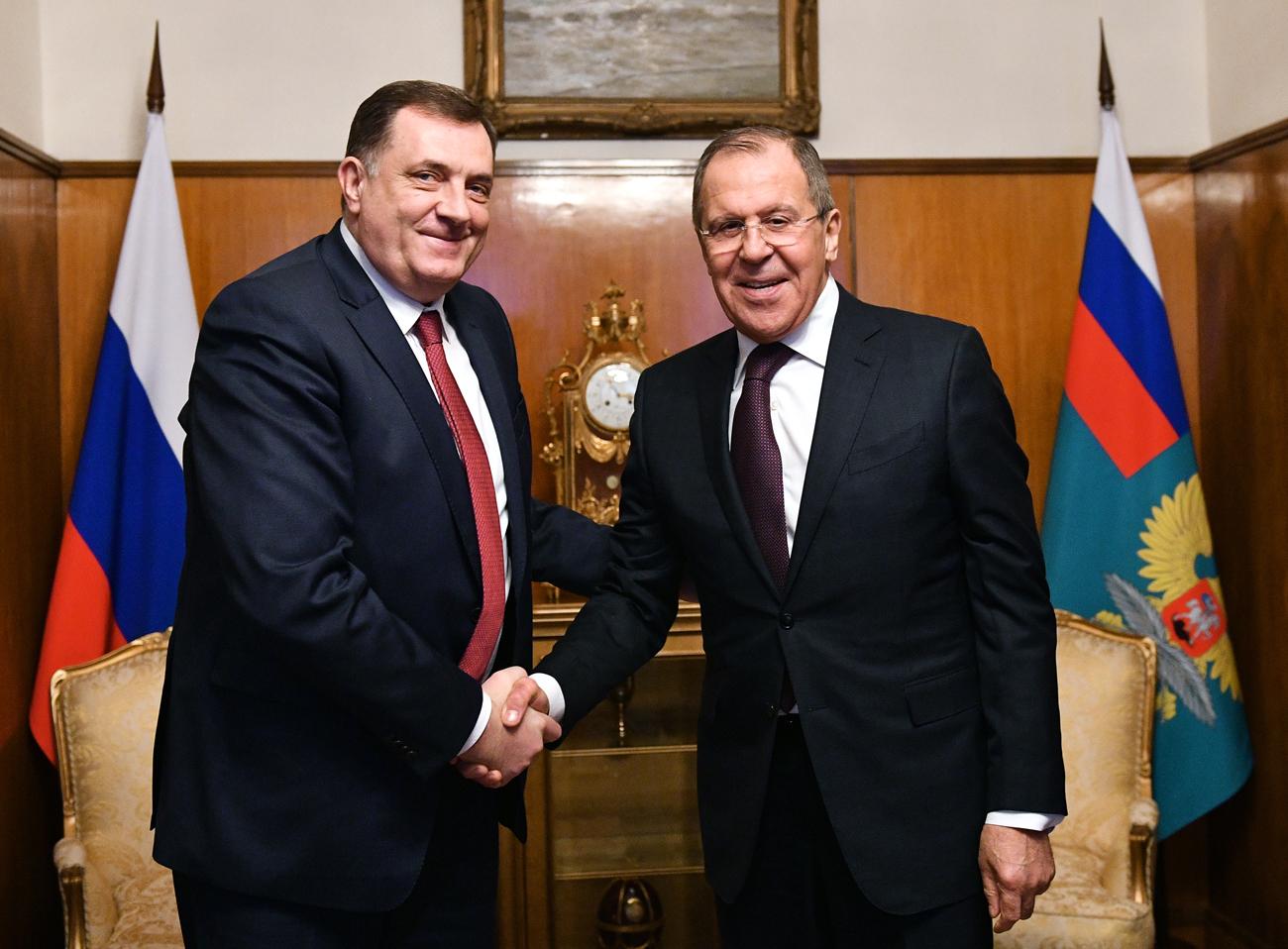 Милорад Додик и Сергеј Лавров.