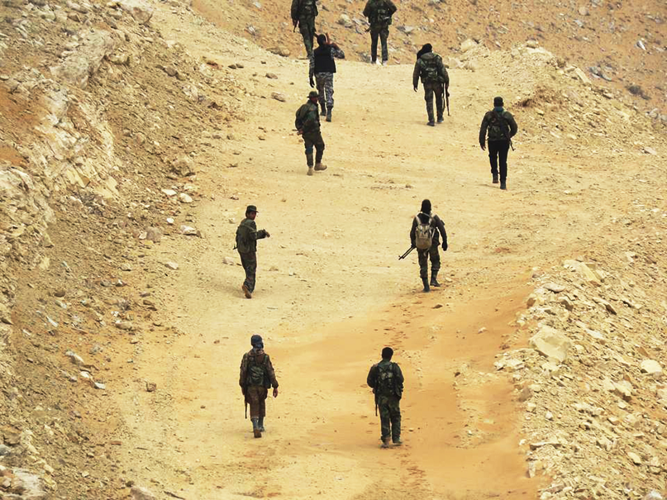 The Syrian Army regained control over the Al-Tar mount near the city, where it placed guns to cover troops. Source: Oleg Blokhin/Anna News