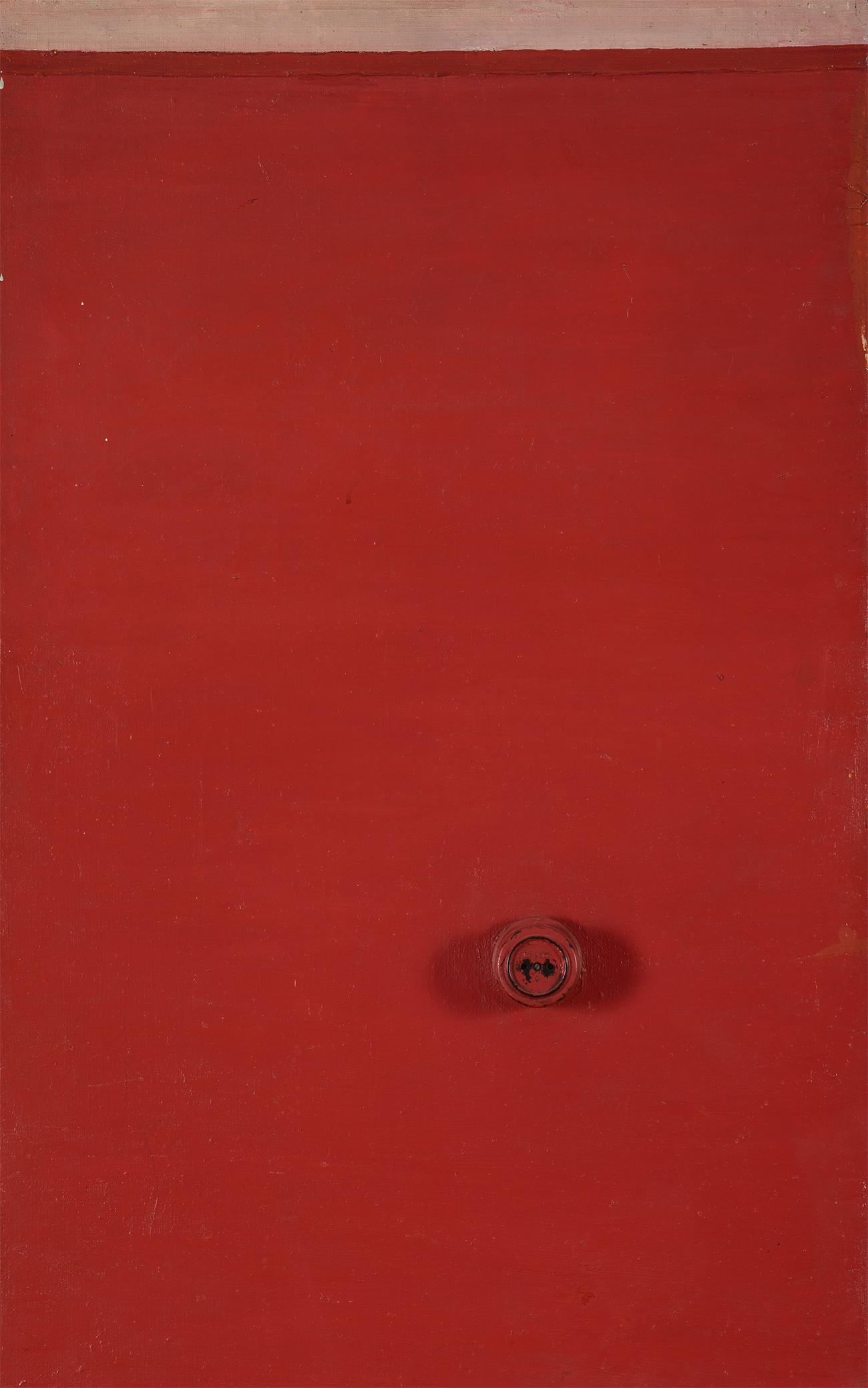 Mikhail Roginsky. Wall with socket. 1965 / State Tretyakov Gallery