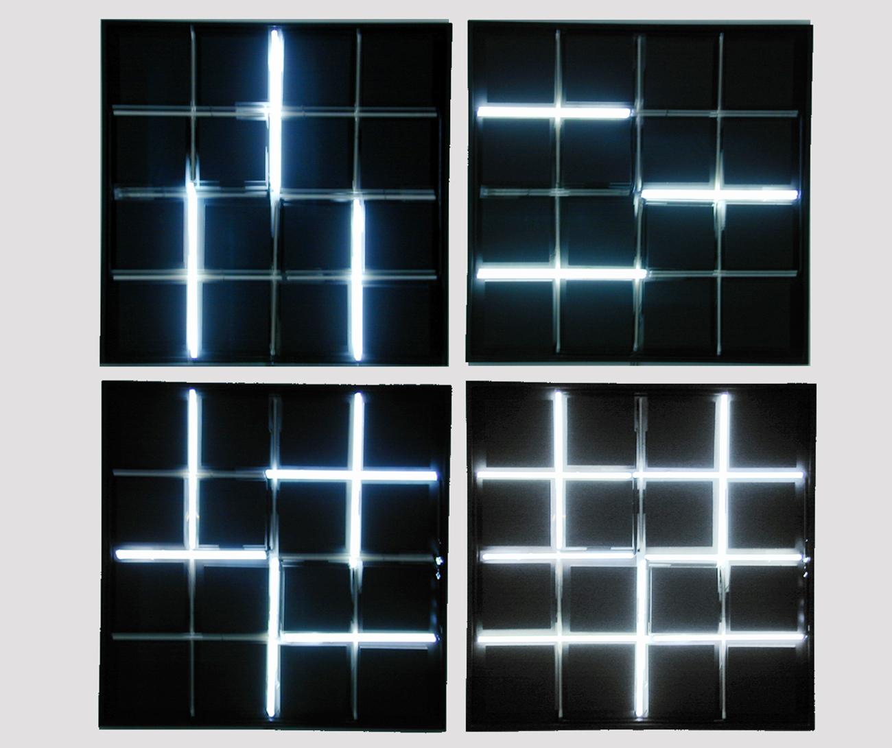 Francois Moreliet. Neon 0°–90°. 2016  / Francois Moreliet Collection (France)