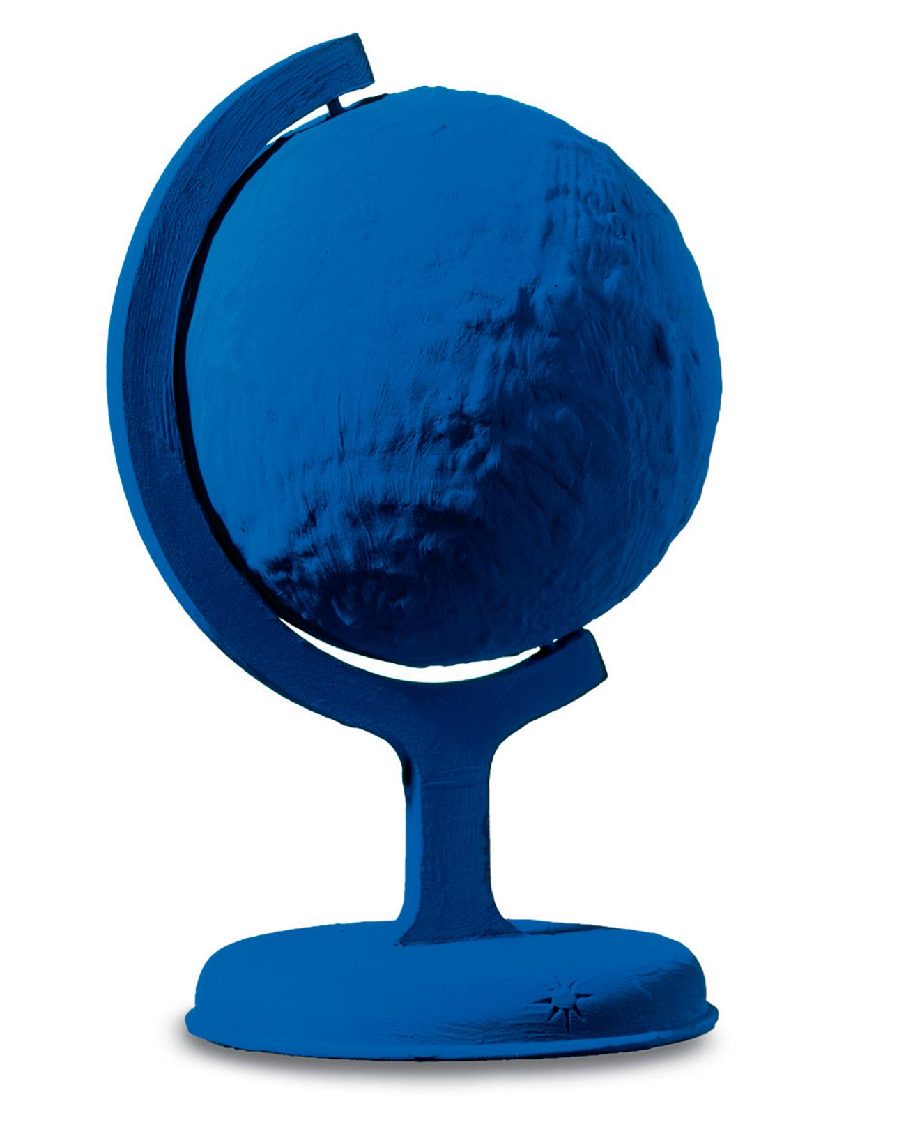Yves Klein. Blue Globe (RP 7). 1988 / Yves Klein, ADAGP, Paris