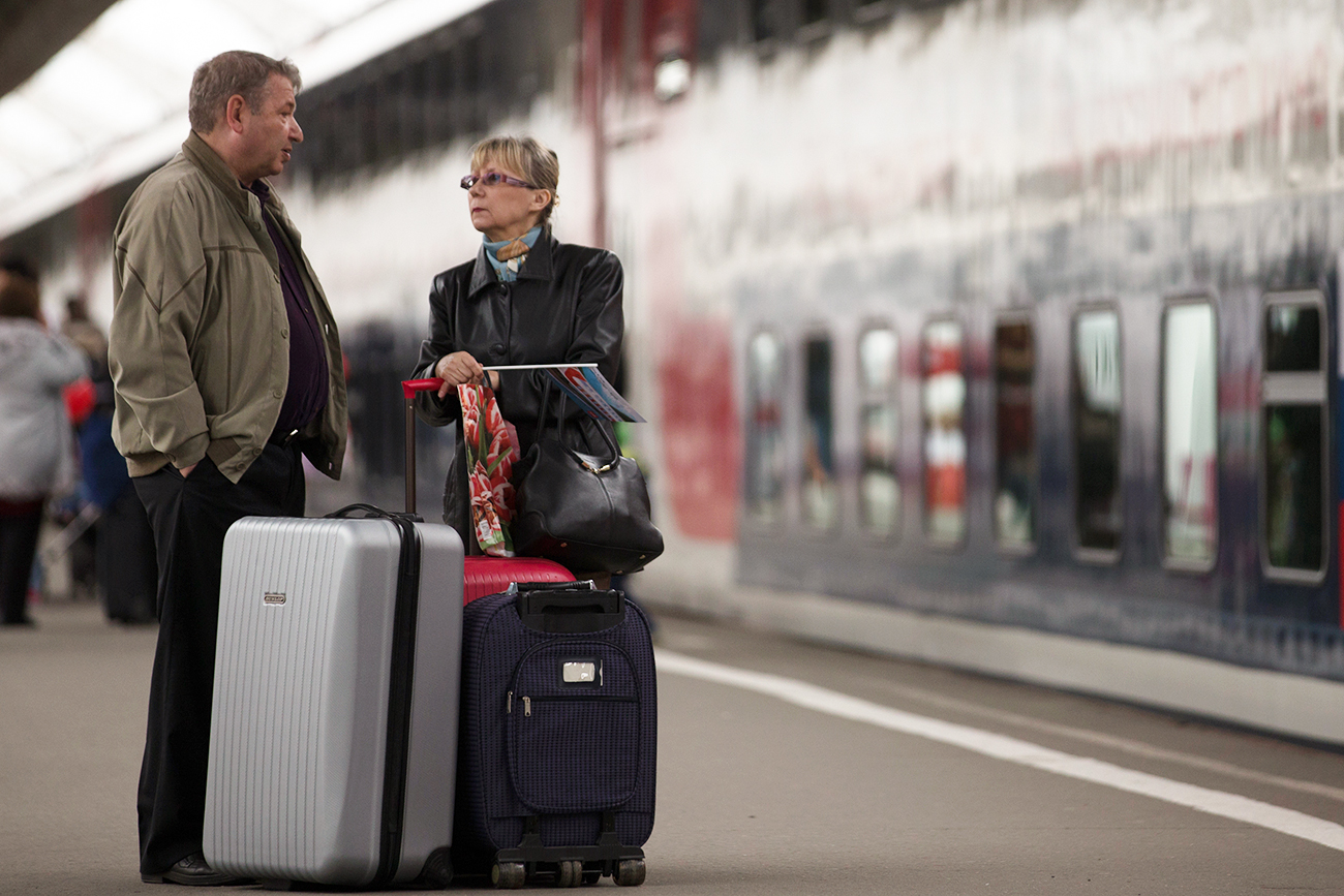 Research shows that 73 percent of Russians have never thought of leaving their homeland.