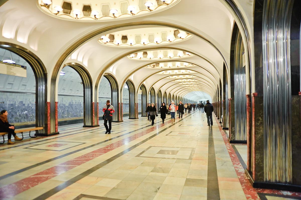 "Станция ""Маяковская"". Снимка: Lori/Legion-Media"
