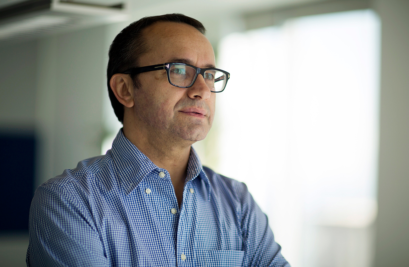 "Director Andrey Zvyagintsev: ""I'd like this film to be compared to Ingmar Bergman's 'Scenes from a Marriage'""."