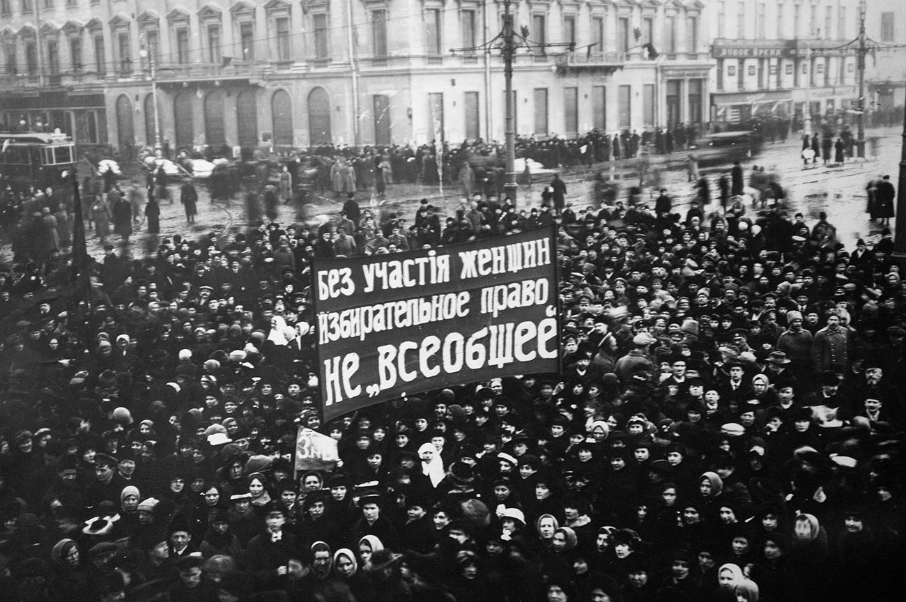 Russas conquistaram direito de voto ainda em 1917, antes de França, Alemanha, Grã-Bretanha, EUA ou Brasil.