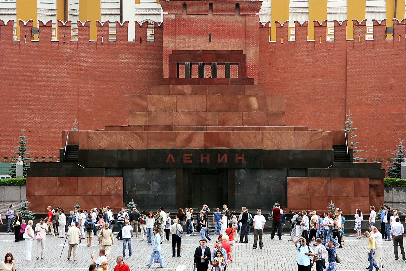 Lenin Mausoleum is listed on UNESCO's World Heritage List.