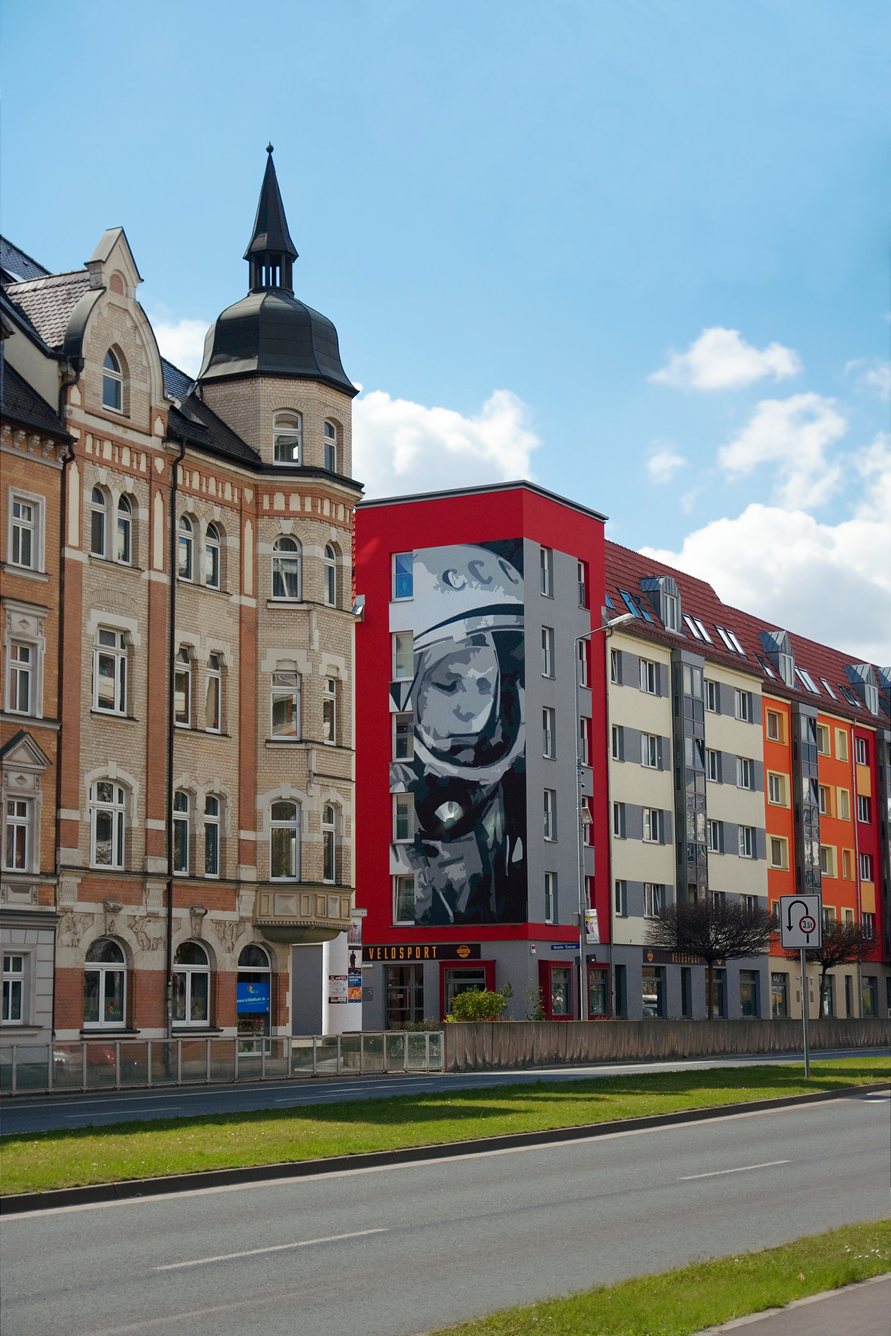 Juri-Gagarin-Ring, Erfurt. / Photo: Legion Media