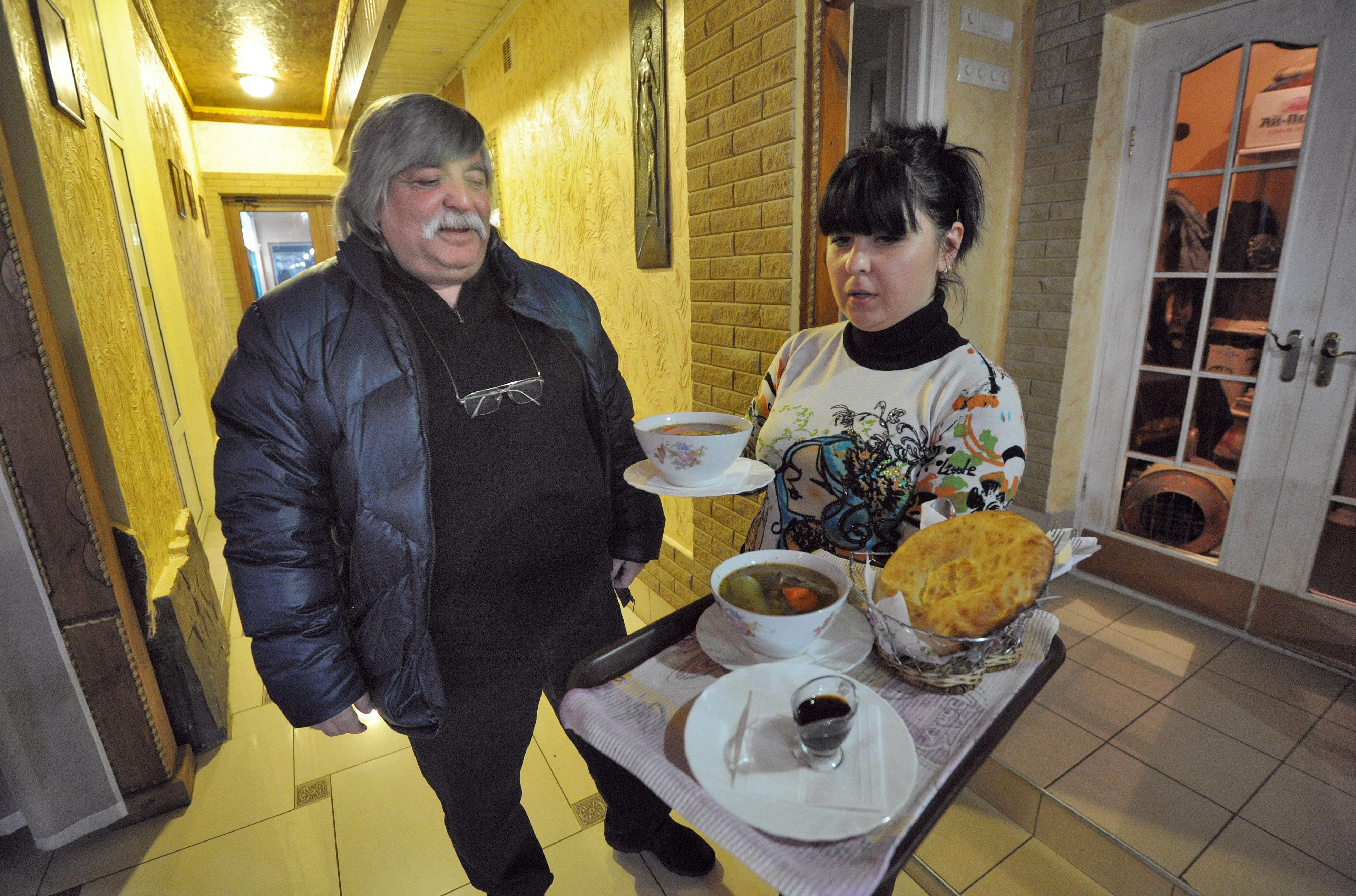 Rifat Bekirov, owner of the Krymski Dvorik restaurant./ Photo: Legion Media