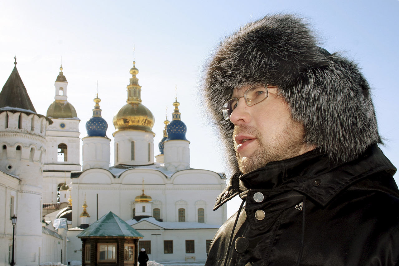 Alexei Ivanov in Tobolsk kremlin.