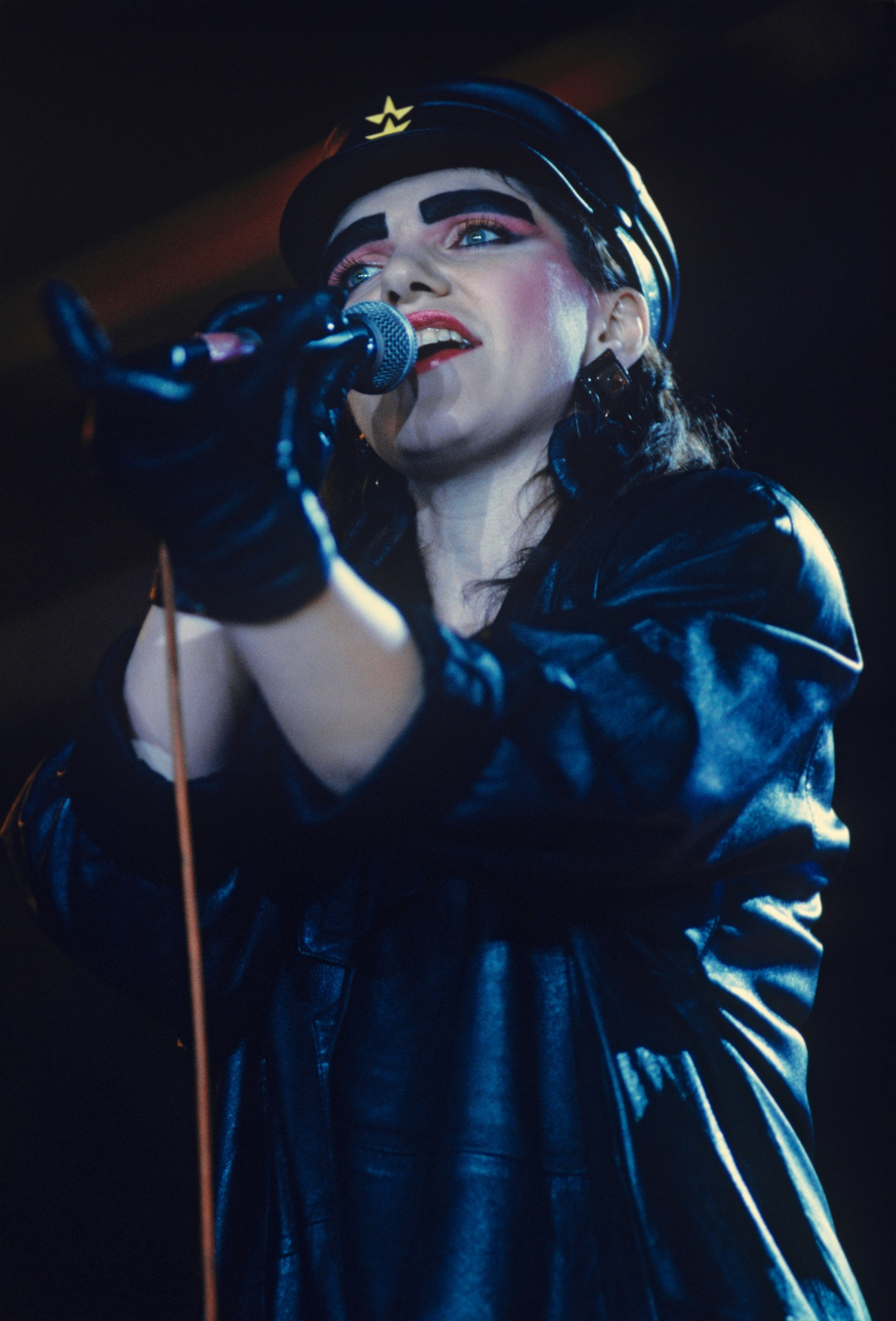 "Zhanna Aguzarova was one of the most famous ""perestroika rock"" singer."