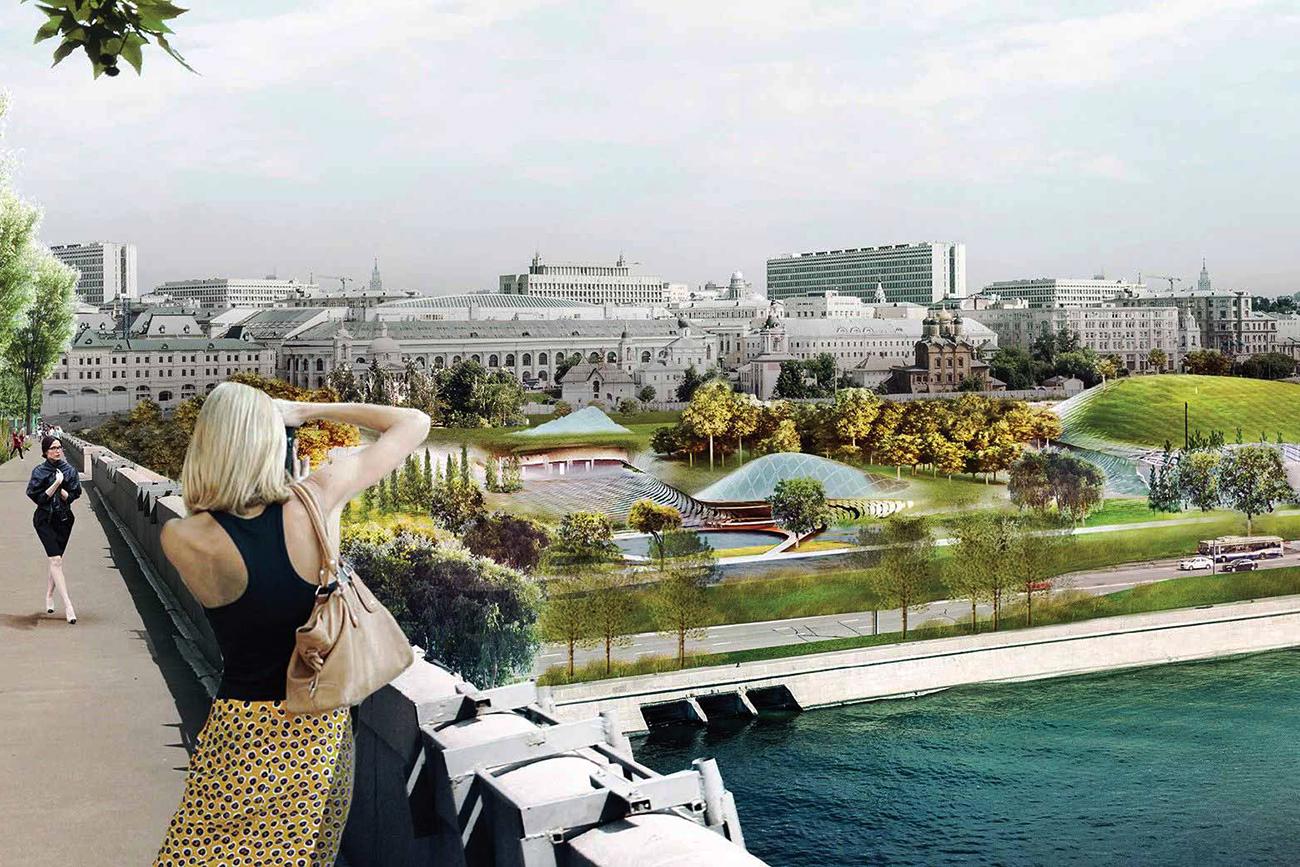 Project of Zaryadye Park\n