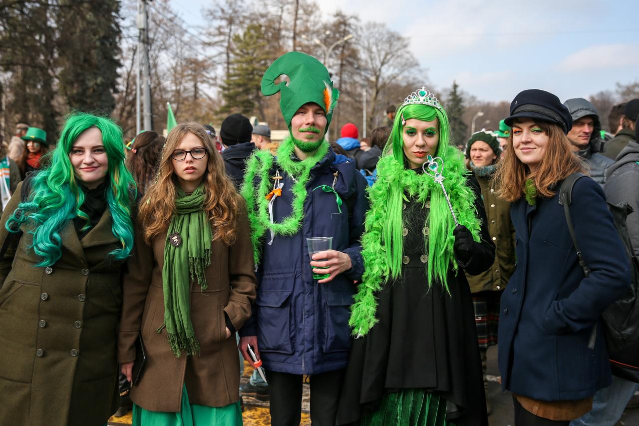 St. Patricks Day in Moscow, March 18, 2017. / Photo: Zurab Javakhadze