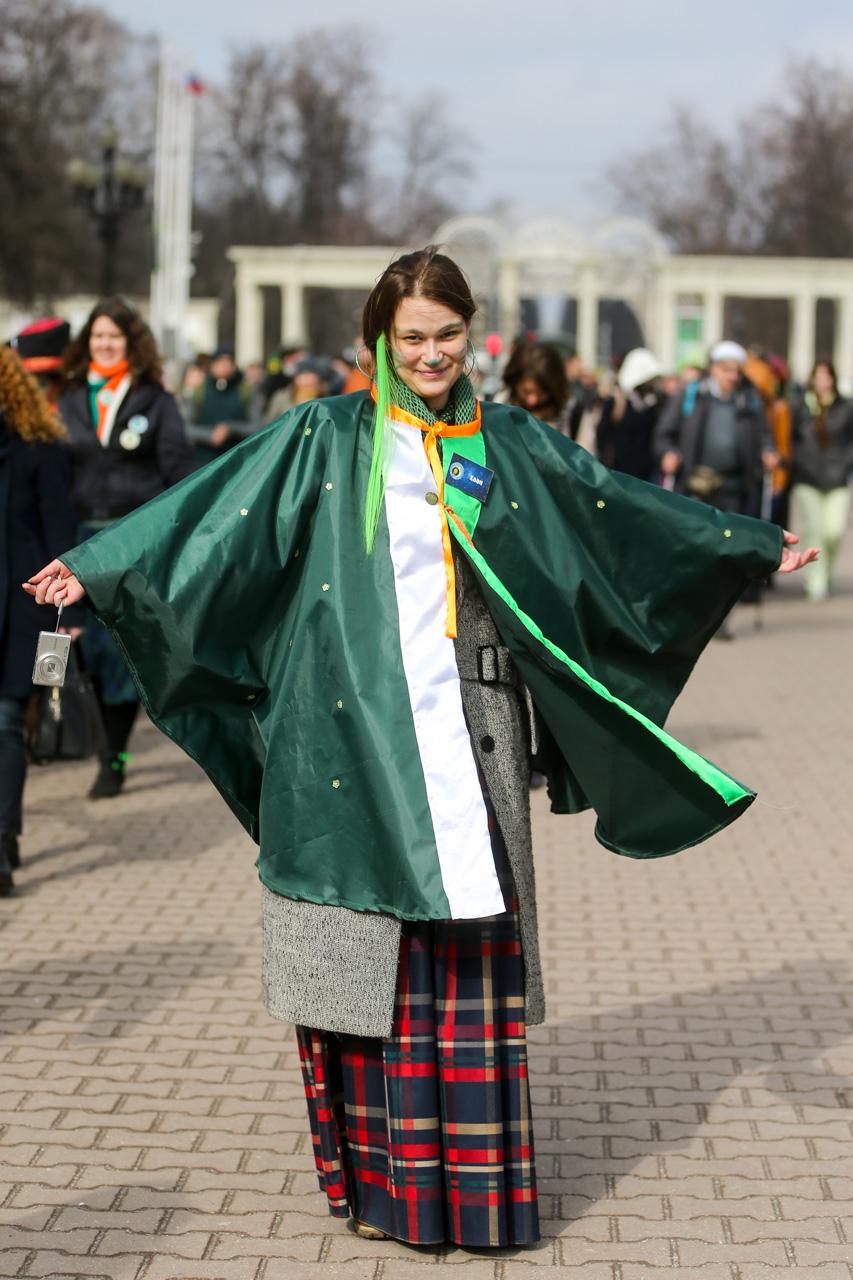 'I made this costume myself overnight.' / Photo: Zurab Javakhadze