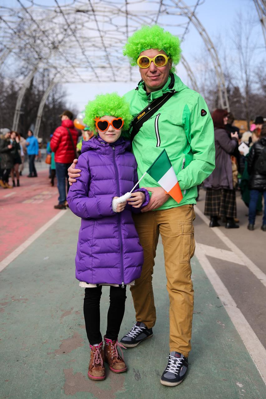 'The Irish are very merry people.' / Photo: Zurab Javakhadze