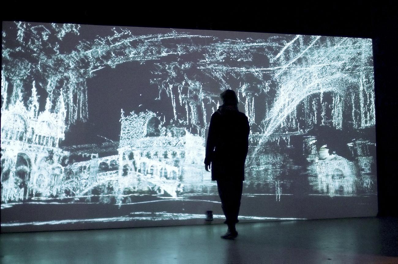 "Marnix de Nijs, ""Exploded views 2.0"", 2013 interactive installation. Source: Interactive installation\n"