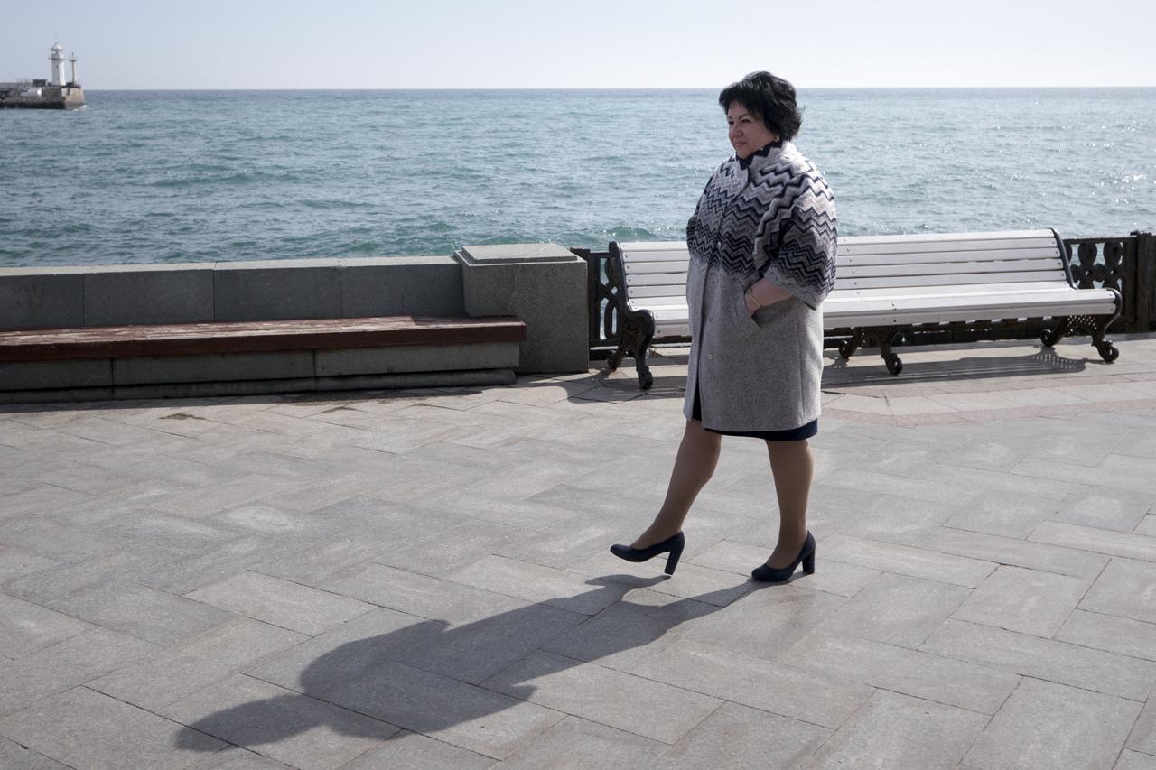 Irina Belozerova, a native of Yalta./ Photo: Sergey Melikhov