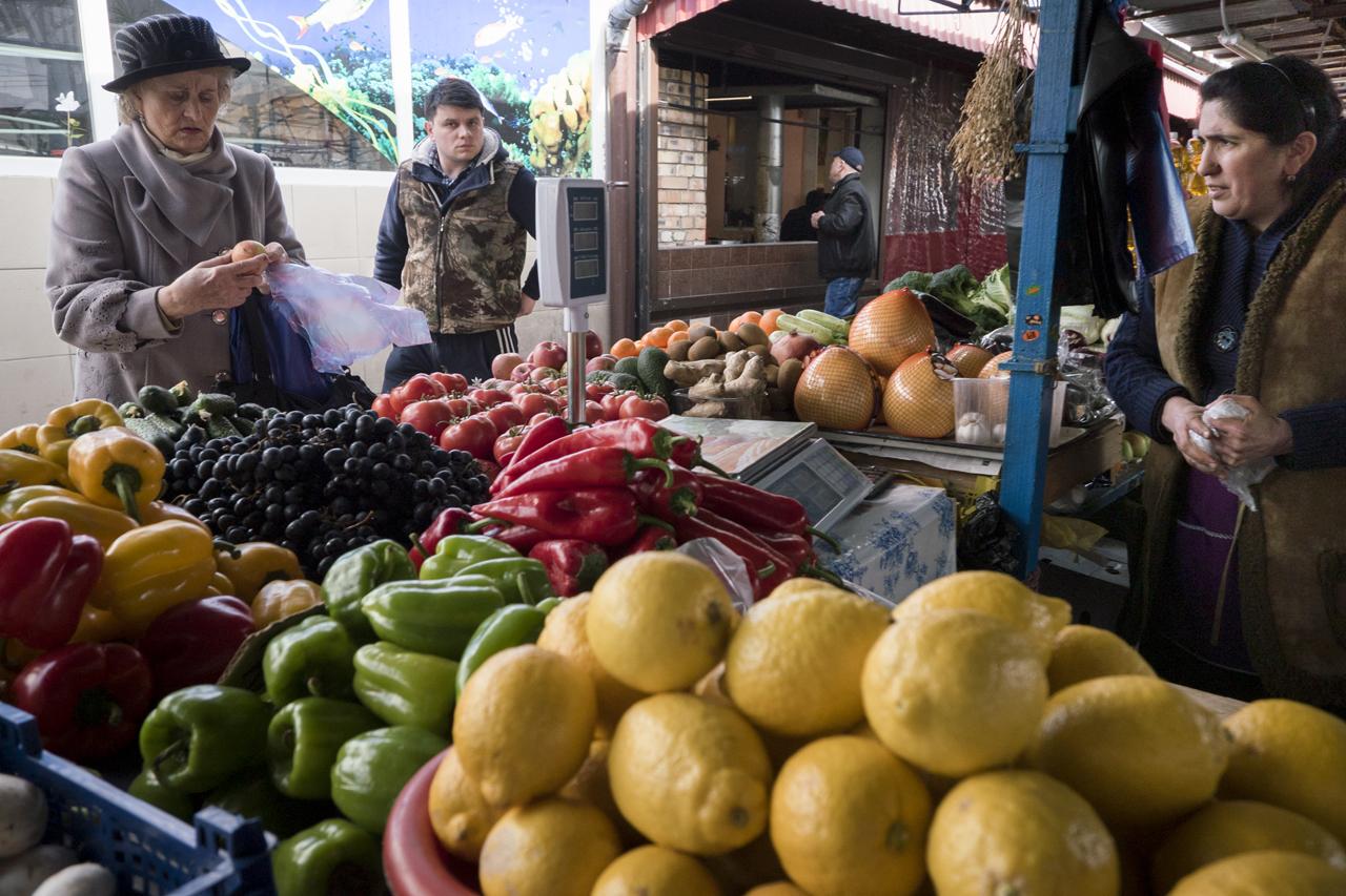 The local market./ Photo: Sergey Melikhov