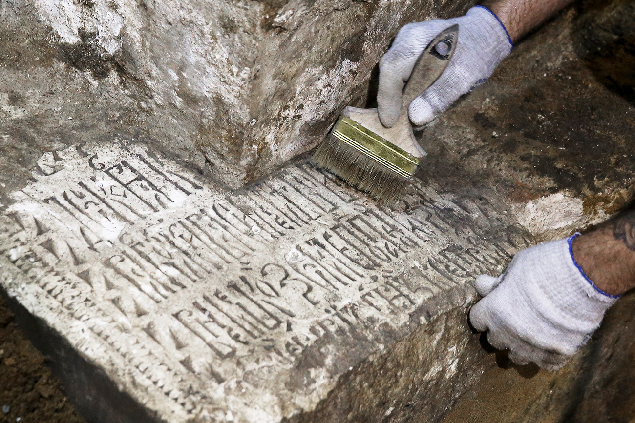 Escavações arqueológicas em área do Kremlin que abrigava edifício antigo