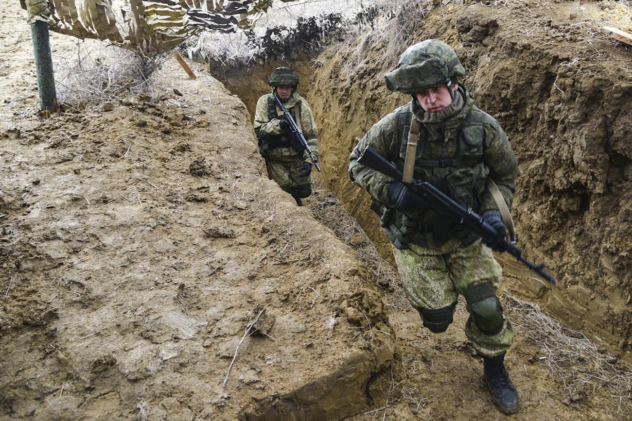 The drills at the Opuk base in Crimea. / Photo: Igor Rudenko/RIA Novosti