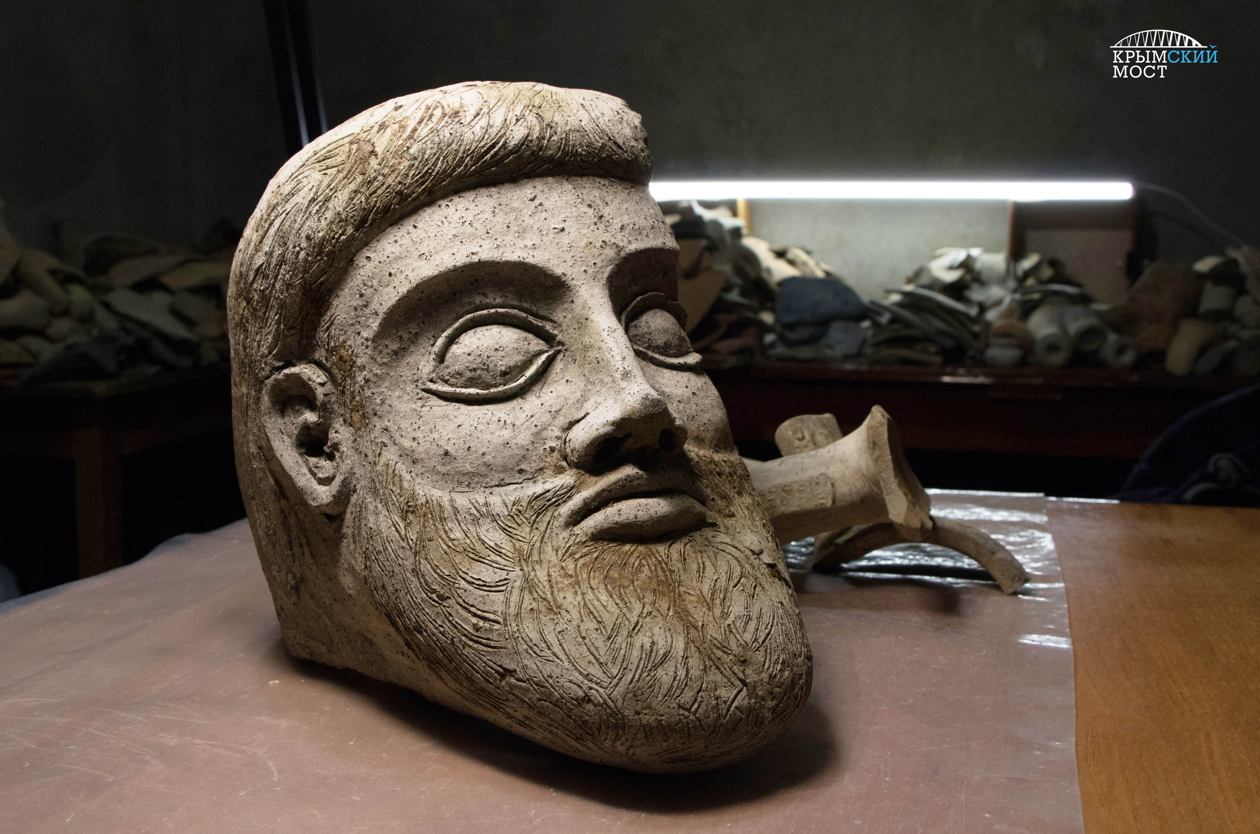 Еhe fragment is believed to have been part of a bigger sculpture.