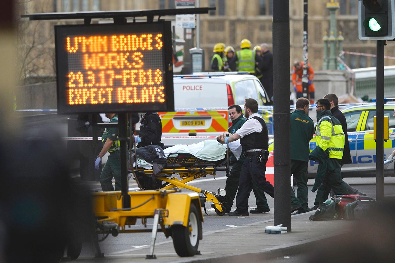 Atentado na capital inglesa deixou cinco mortos e outros 40 feridos