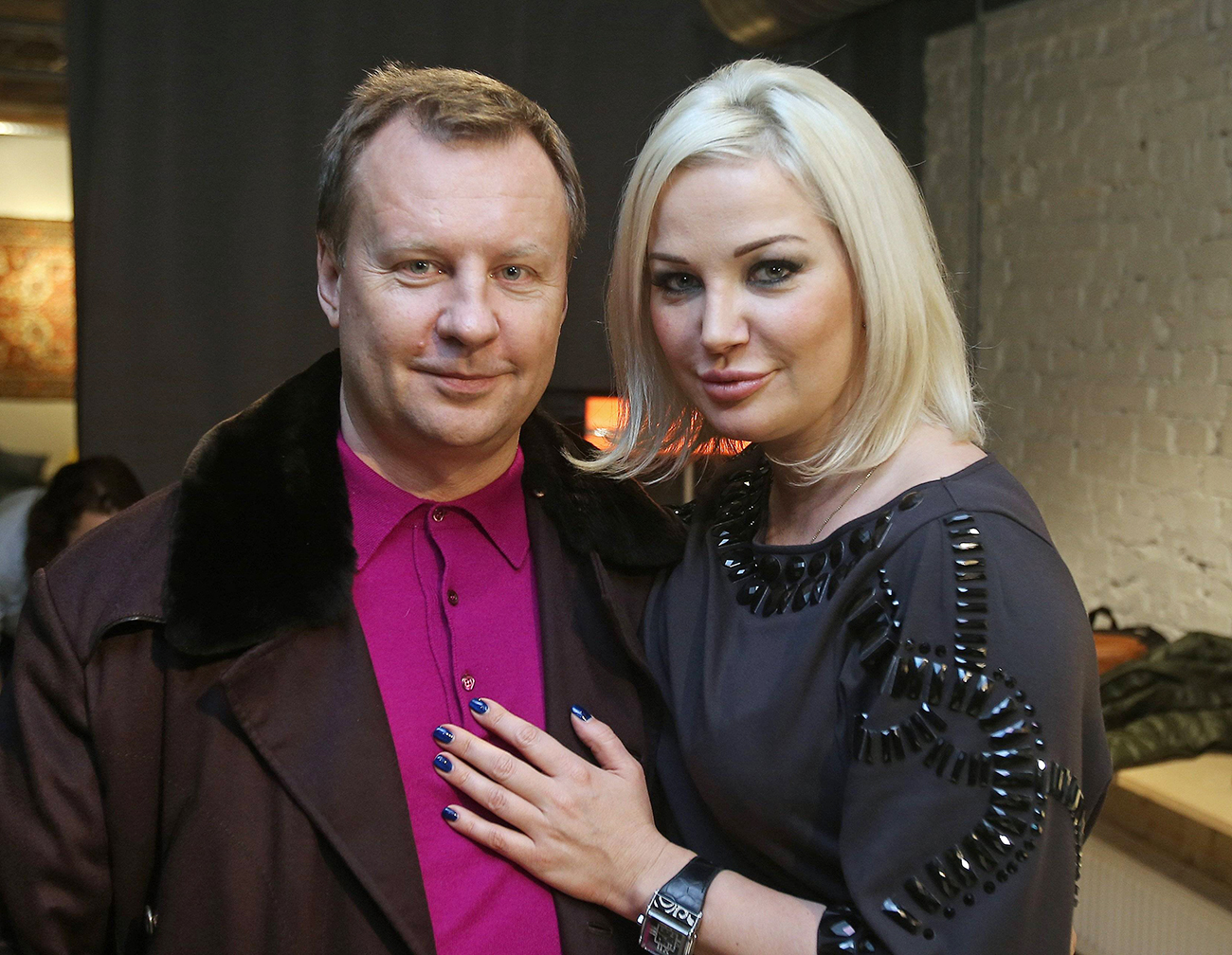 "Former lawmaker of the Russian State Duma Denis Voronenkov and his wife Maria Maksakova pose for a picture during a screening of the movie ""Nemtsov"" by Vladimir Kara-Murza in Kiev, Ukraine February 27, 2017. Picture taken February 27, 2016."