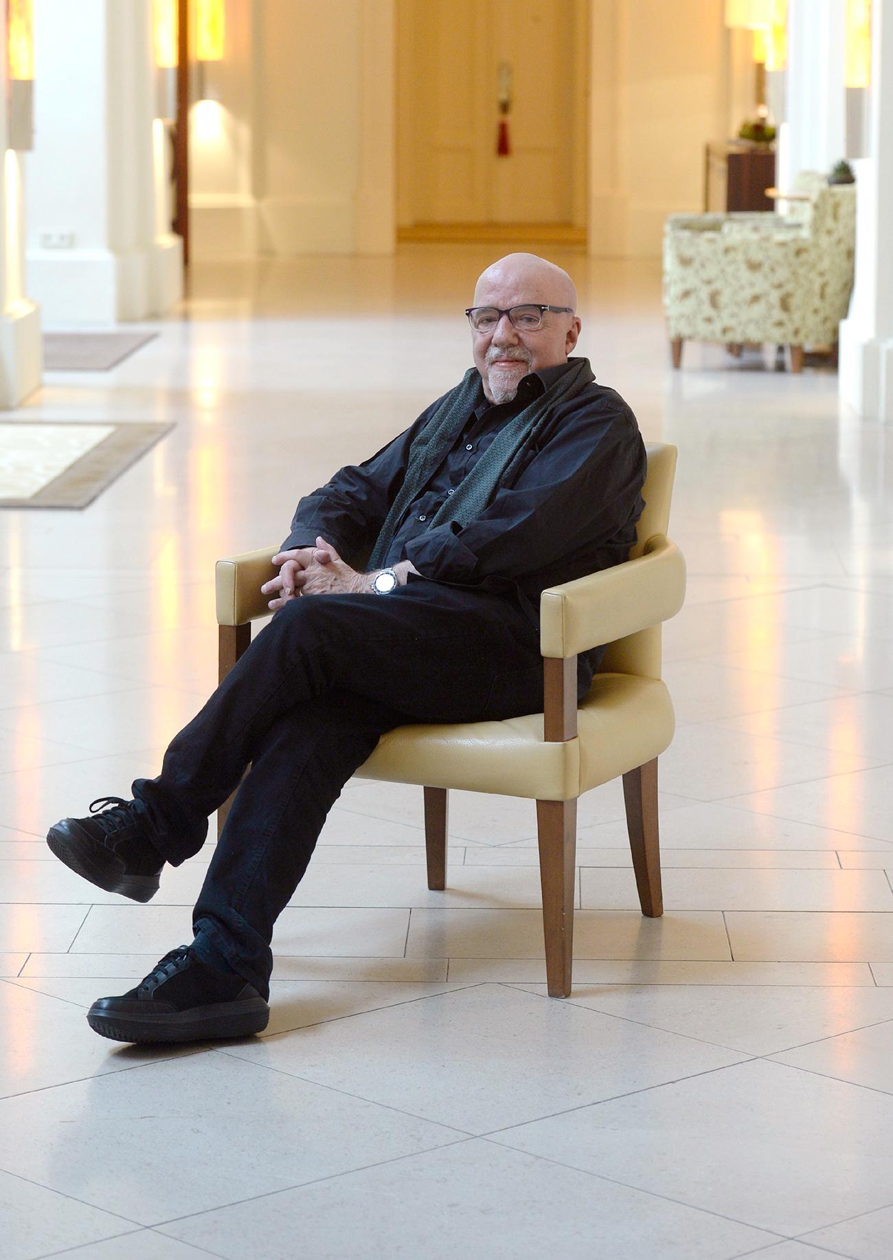 Paulo Coelho. Fuente: Global Look Press
